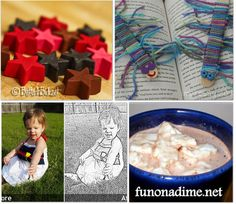 36 kid craft and boredom busters.  Some really good ideas.