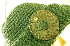 Lana lavorata a Crochetcon inserto in ceramica Raku € 38.90  http://www.forgiatoredielementi.it/gallery-container.php?type=filati-e-ceramica