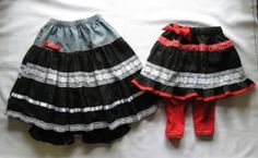 Upcycle old adult clothes into new kids fashions