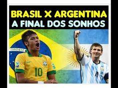 A final dos sonhos Brasil e Argentina para Quesada o craque da copa Neym...