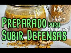PREPARADO PARA SUBIR LAS DEFENSAS CON MIEL, POLEN Y JALEA REAL - YouTube