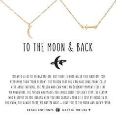 You are my sunshine - Bryan Anthonys mother daughter necklace set should be worn as a reminder that the love between a mother and daughter is like nothing else in the world Back Necklace, Necklace Set, Arrow Necklace, Gold Necklace, Emerald Necklace, Bridal Necklace, To The Moon And Back Tattoo, Best Friend Bracelets, Mother Daughter Necklace