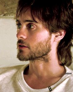 Funny how Jared still looks so sexy in stubble and unkept hair