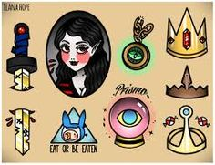 Image result for adventure time tattoo