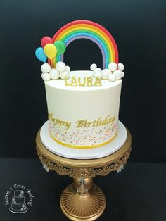 My favourite colour is.... www.facebook.com/cakesbyleannerhodes My Favorite Color, My Favorite Things, How To Make Cake, Cake Decorating, Special Occasion, Wedding Cakes, Birthday Cake, Rainbow, Colour