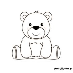 - Her Crochet Bear Coloring Pages, Coloring Sheets For Kids, Coloring Books, Teddy Bear Outline, Teddy Bear Drawing Easy, Bear Songs, Animal Outline, Bear Theme, Bear Pictures