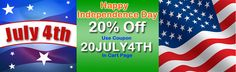Big Offer for Happy July 4th. Grab 20% Offer on #magento extensions at http://mage-extensions-themes.com/magento-extensions.html