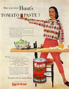 Pin up girl clothing Retro Advertising, Retro Ads, Vintage Advertisements, Vintage Ads, Vintage Posters, Vintage Food, Retro Recipes, Vintage Recipes, Vintage Cookbooks