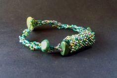 nice idea.  Peyote bead with multi bead strands