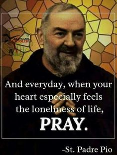 Pray when your heart feels lonely. Catholic Quotes, Catholic Prayers, Religious Quotes, Spiritual Quotes, Religious Icons, Gk Chesterton, Miracles Happen Everyday, Saint Quotes, Praying To God