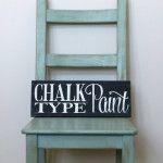 Painting Furniture with Chalk-Type Paint