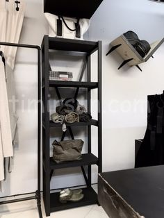"Стеллаж Х лофт для магазина одежды от мастерской ""Тимирсан"" Stillage loft Ladder Bookcase, Shoe Rack, Shelves, Home Decor, Shelving, Decoration Home, Room Decor, Shoe Racks, Shelving Units"
