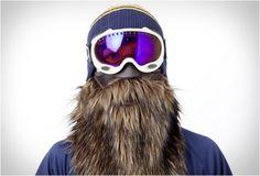 Beardy ski mask