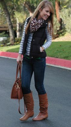 Outfits with puffy vest on Pinterest