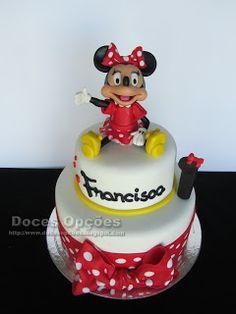Doces Opções: A Minnie no 1º aniversário da Francisca