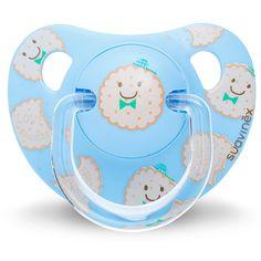 #Suavinex #Fopspeen Anatomisch Latex +6M #koekjes blauw #cookies #biscuits #pacifier #baby #littlethingz2
