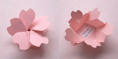 Great Paper Craft Ideas - origami flower box