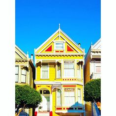 House of sunshine dreams 🌞  #homegoals #paintedhouses #yellow