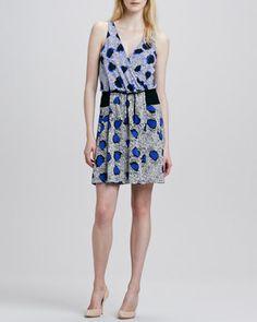 Oblixe Cheetah-Print Dress by Diane von Furstenberg at Neiman Marcus.