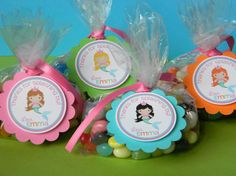 --Tags as this I can make for you.  ----------------------  Mermaid Birthday Party Favor Tags
