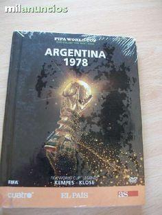 Vendo DVD ARGENTINA 1978. Fifa world cup DVD collection 1930-2006. Kempes-Klose. (Cuatro -As). Esta sin abrir. Además tengo el de Suiza 1954, México 86 y el de 1930 a 1950. Anuncio y más fotos aquí: http://www.milanuncios.com/peliculas-en-dvd/dvd-fifa-world-cup-argentina-1978-127655920.htm