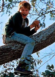 What's Eating Gilbert Grape. He did such a fantastic job in this movie i cant