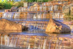 Waterfalls Downtown Shreveport RiverFront Plaza | Flickr - Photo Sharing!