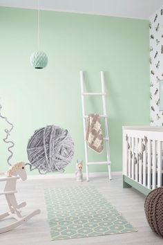 Babykamer Groen Blauw.34 Beste Afbeeldingen Van Babykamer Groen Picture Wall Shelves En