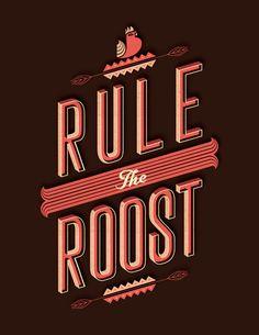 Type Junkie, Typejunkie: Rule the Roost - Alez Perez (via THE...