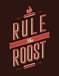 Type Junkie, Typejunkie: Rule the Roost - Alez Perez (via THE...