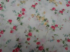 We have for sale a length of 2.35 metres (235cm) x 136cm of Elizabeth A. Liberty Of London. Tana Lawn Cotton.   eBay!