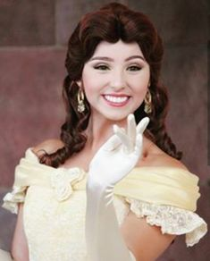 Walt Disney Pictures Movies, Disney Face Characters, Princess Belle, Beauty And The Beast, One Shoulder Wedding Dress, Wedding Dresses, Fashion, Bride Dresses, Moda
