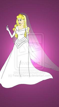 Disney Brides: Aurora by FeistyEilonwy.deviantart.com