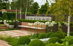 Contemporary Residential Landscape Architecture Contemporary contemplation