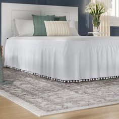 The Twillery Co. Erion Comforter Set & Reviews   Wayfair Joss And Main, Luxury Comforter Sets, Ruffle Bedding, Purple Comforter, Quilt Sets, Bed Spreads, All Modern, Duvet Cover Sets, Comforters