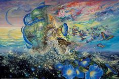Seasons of Life by Josephine Wall  From the sea of life emerge the enthusiasm and innocence of youth in Springtime. Description from pinterest.com. I searched for this on bing.com/images