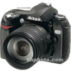 Nikon D70, 6.1 Megapixel, SLR, Digital Camera Body (Don't mind starting of with this!)