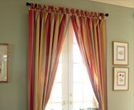 This Shirred Curtain Warms The Room When Light Comes Through Window Colors Green Wallsat