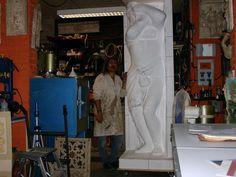 Sets, various sculptures and applied arts Mario Bresciani www.mariobresciani-marbreart.com