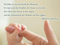 Sprüche zur Geburt: Ein Geschenk des Himmels