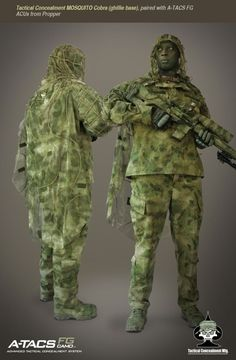 Now Available ATACS FG Camo Sniper Gear from Tactical Concealment Mfg - Soldier Systems