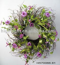 Artificial Flower Wreaths Photo, Detailed about Artificial Flower Wreaths Picture on Alibaba.com.