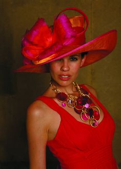 Spring Hats For Women | spring summer style red hats casual trend 2012 Latest Summer Hats ...