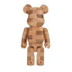 """colette MEDICOM TOY Be@rbrick 400% Karimoku """"Brick-Style Tiles"""""""