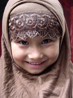 Beautiful little girl, Xinjiang, China