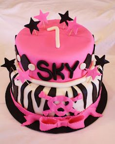 Sweet & Sassy Cakes!: Punk Rock Baby!!
