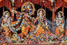Radha Madhava Pusya Abhisek Flower Dress