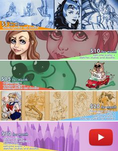 New rewards for who wants to support me on Patreon! https://www.patreon.com/user?u=490993&u=490993&ty=h