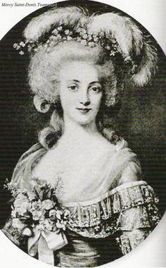 Yolande Martine Gabrielle de Polastron, duchesse de Polignac,