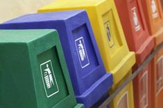 Waste Container, Cubes, Recycling